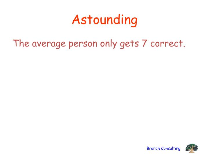 Astounding
