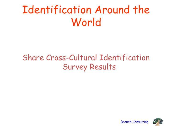 Identification Around the World