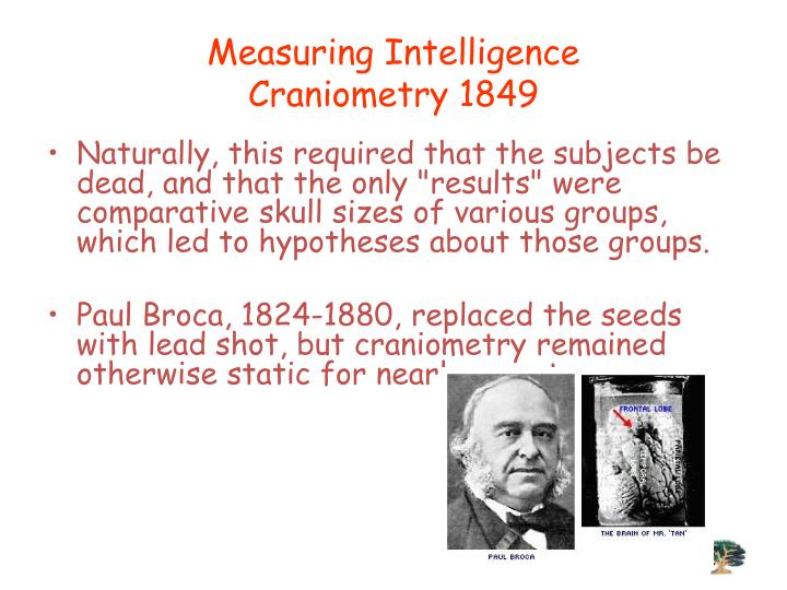 Measuring Intelligence