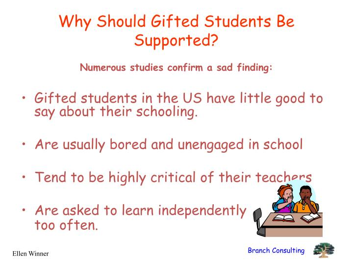 Why Should Gifted Students Be Supported?