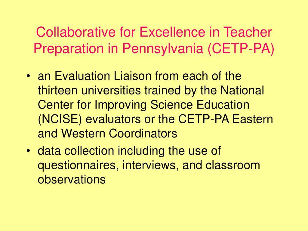 PPT - Implementing Reform in Teacher Preparation PowerPoint