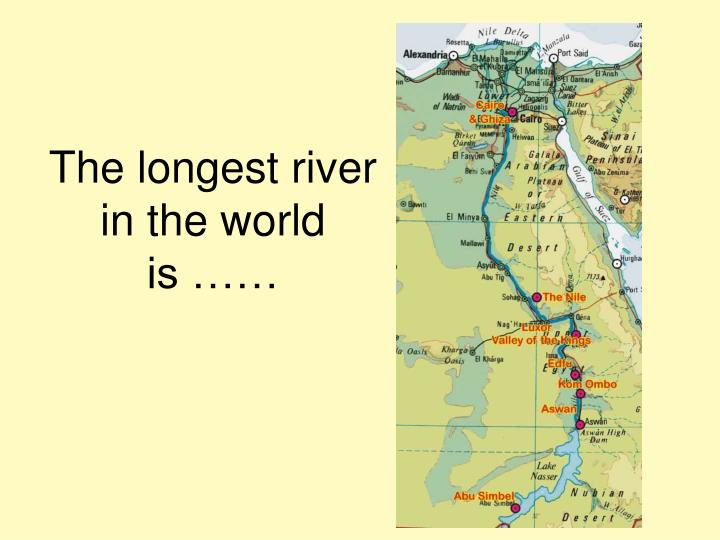 PPT Major rivers of the world PowerPoint Presentation ID 5938191