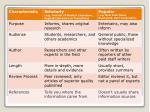 criteria for scholarly