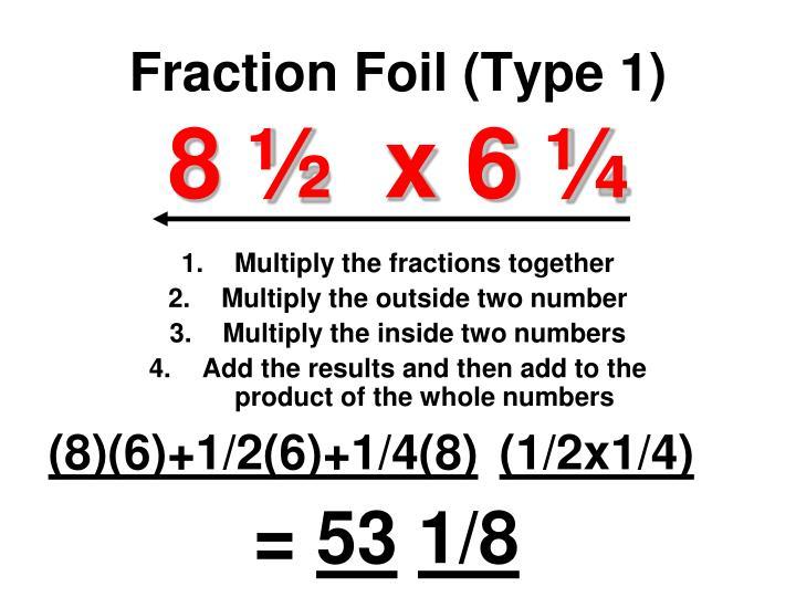 Fraction Foil (Type 1)