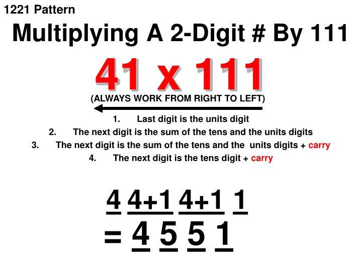 1221 Pattern