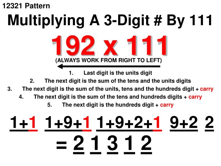 12321 Pattern