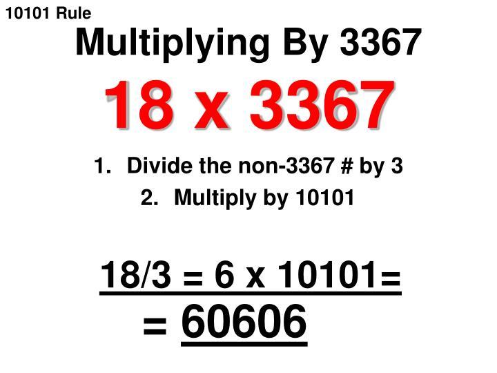 10101 Rule