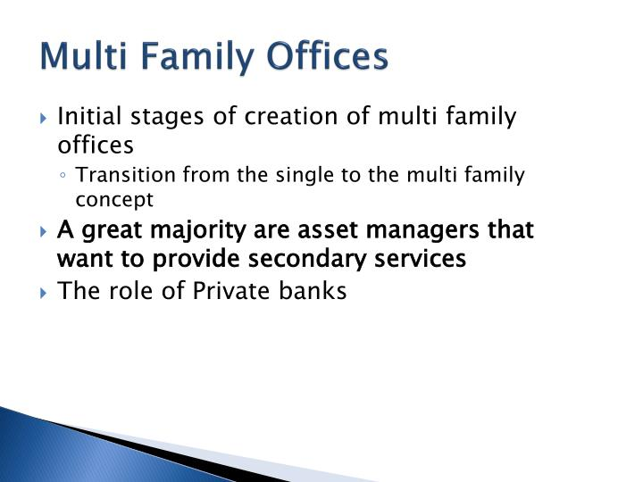 Multi Family Offices