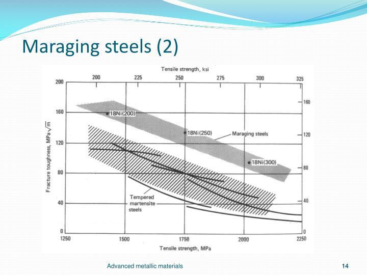 Maraging steels (2)