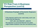 fx risk from a business perspective cont d1