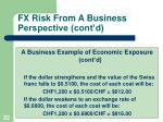 fx risk from a business perspective cont d2