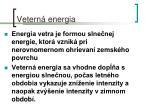 vetern energia