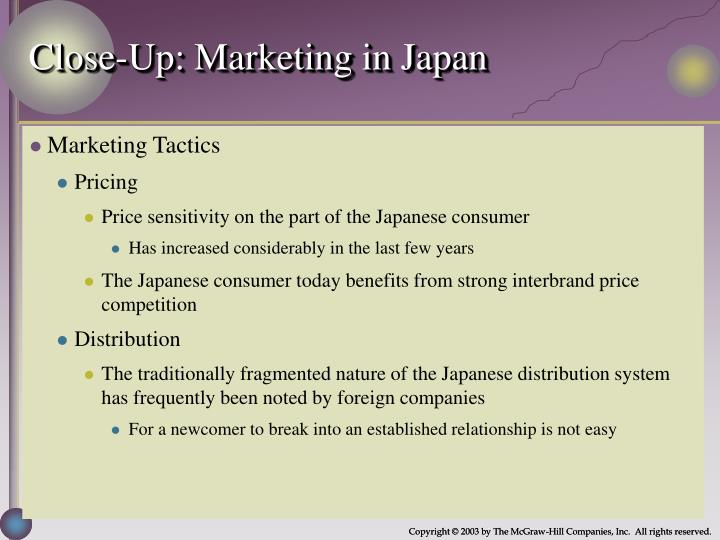 Close-Up: Marketing in Japan