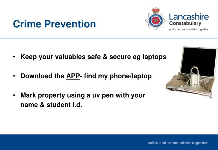 crime prevention powerpoint presentation pdf