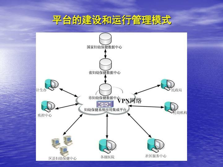 平台的建设和运行管理模式