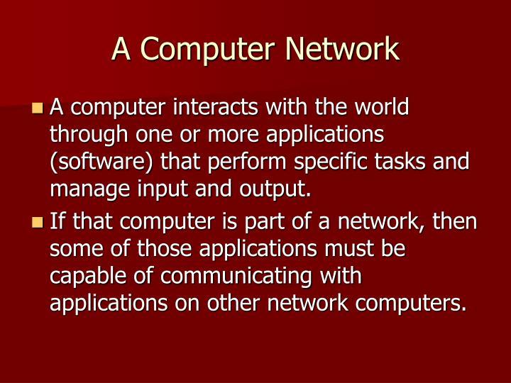 A Computer Network
