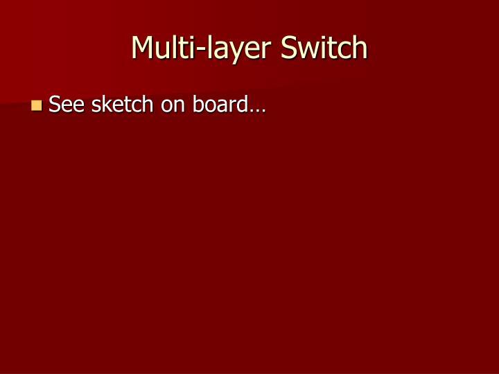 Multi-layer Switch