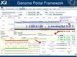 genome portal framework