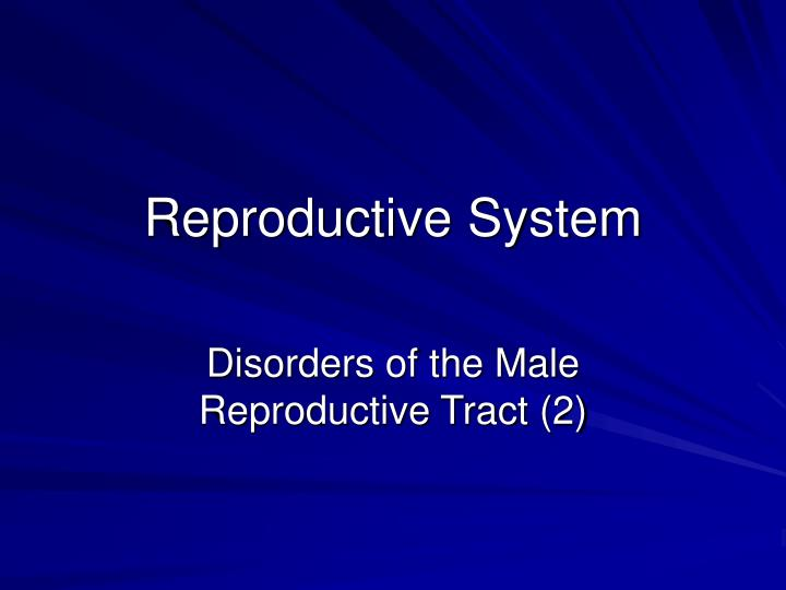 Ppt Reproductive System Powerpoint Presentation Free Download Id 5941392