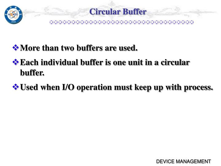 Circular Buffer
