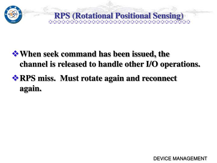 RPS (Rotational Positional Sensing)