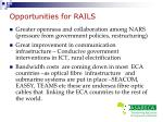 opportunities for rails