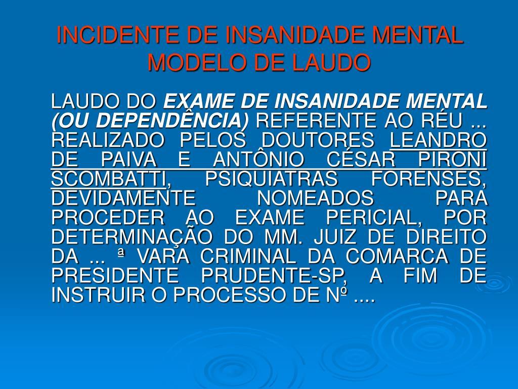 Ppt Psiquiatria Forense Powerpoint Presentation Id5942281