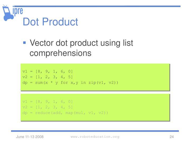 Dot Product