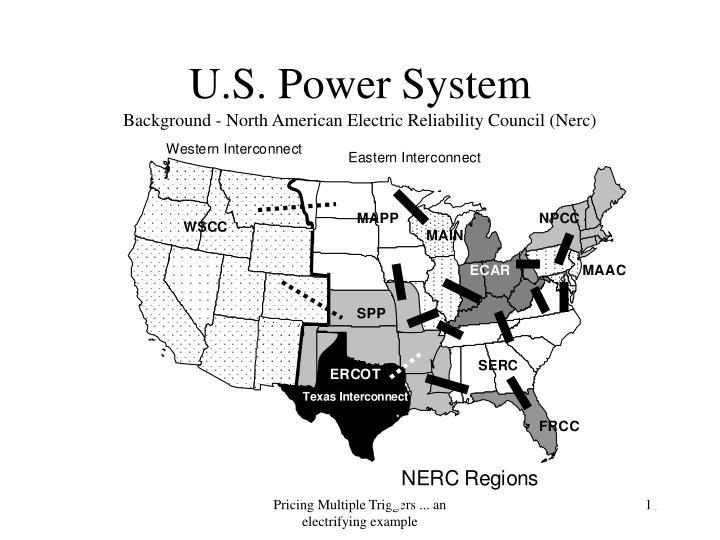 U.S. Power System