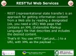 rest ful web services