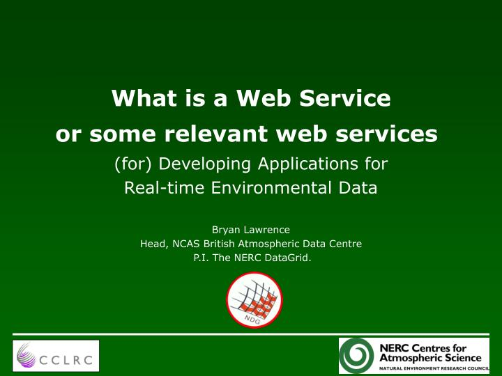 what is a web service n.