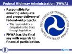 federal highway administration fhwa