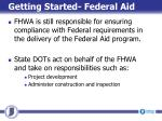 getting started federal aid4