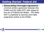 getting started federal aid5