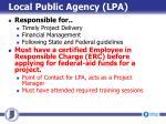 local public agency lpa
