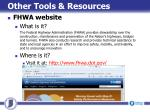 other tools resources