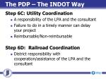 the pdp the indot way5