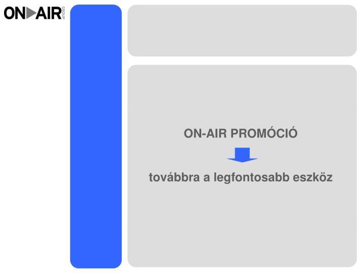 ON-AIR PROMÓCIÓ