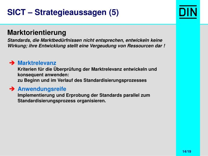 SICT – Strategieaussagen (5)