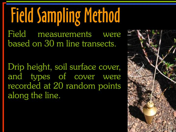 Field Sampling Method