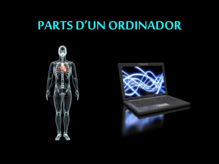 Parts d un ordinador