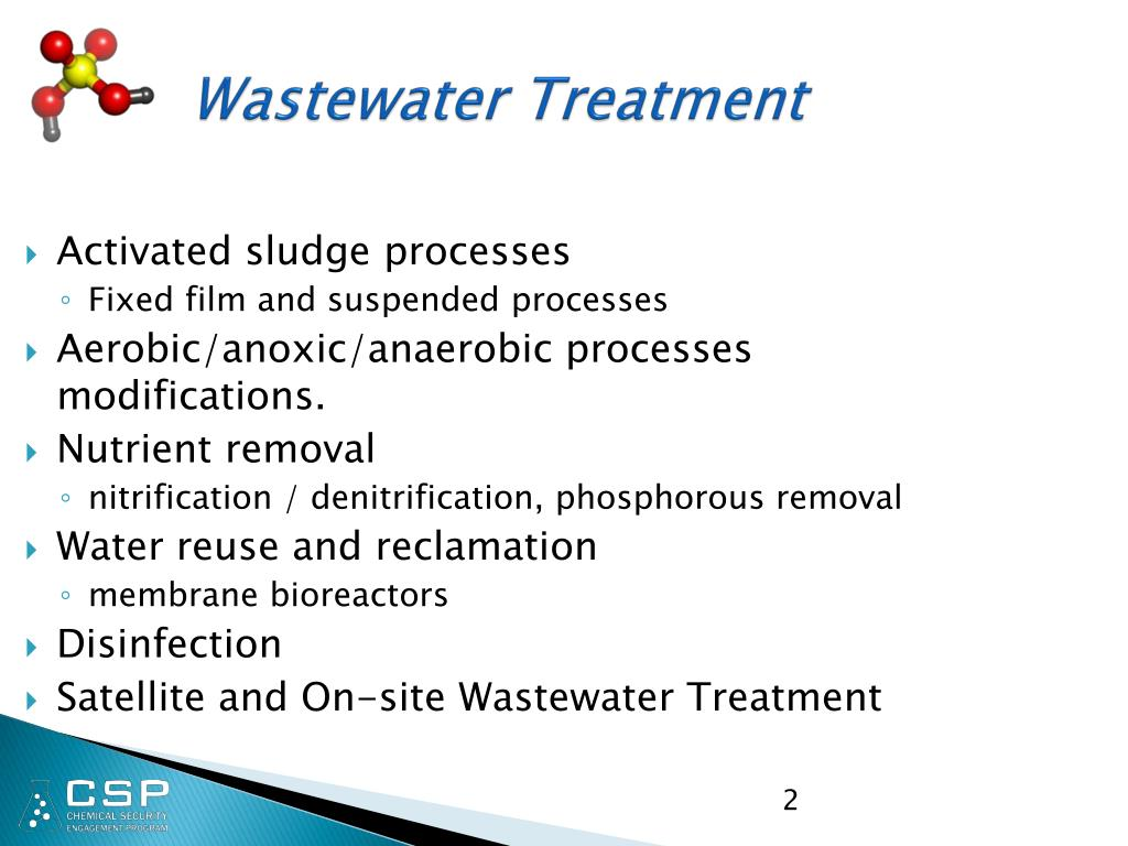 PPT - Fundamentals of Wastewater Treatment PowerPoint