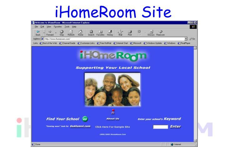 iHomeRoom Site