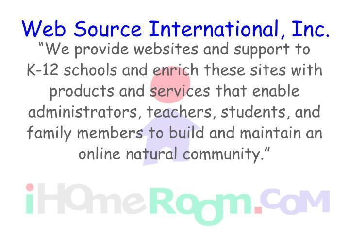 Web source international inc