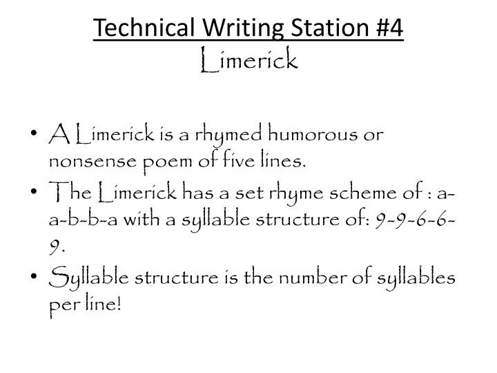 Technical Writing Station #4