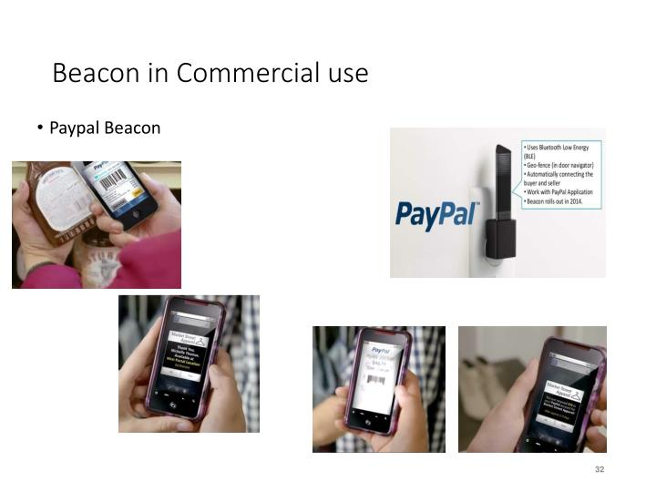Beacon in Commercial use