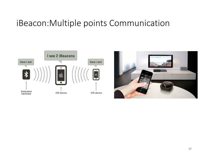 iBeacon:Multiple