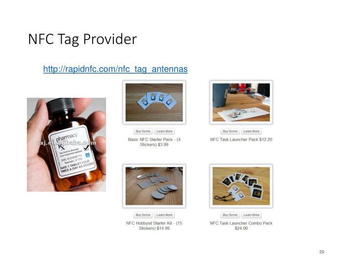 NFC Tag Provider