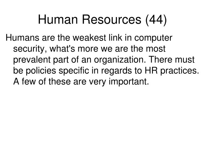 Human Resources (44)