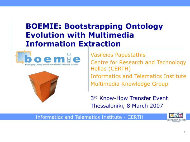 bootstrapping ontologies for web services Join jeff winesett for an in-depth discussion in this video, understand bootstrapping, part of amazon web services essential training.